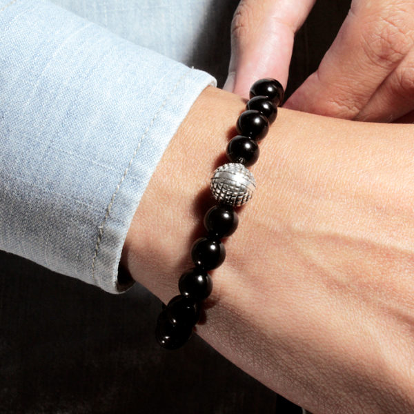 Pulsera basic black