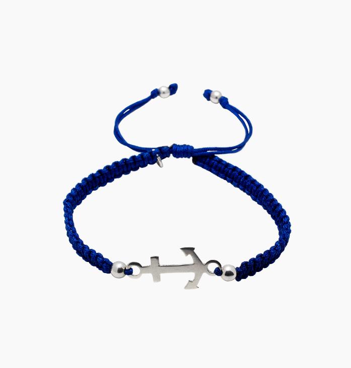 Pulsera Ancla Blue