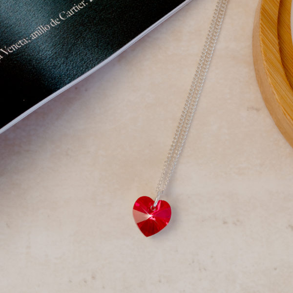 Collar Corazon RED